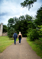 210715 Kirsty Hodgeson and Zack Keightley'Smith Hardwick Hall Engagement Shoot